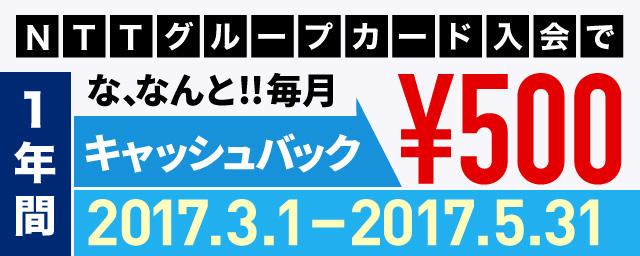 NTTカードキャンペーン